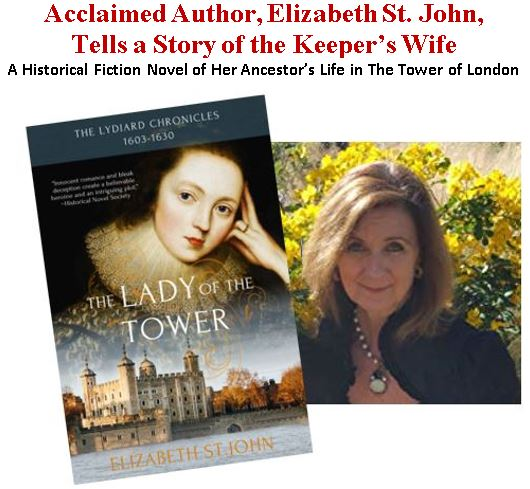 Author Elizabeth St John Visits Kansas City