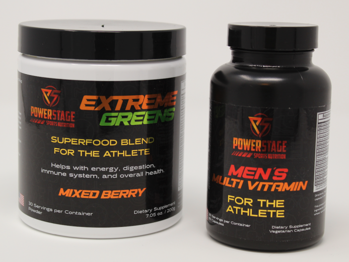 Powerstage Sports Nutrition Extreme Greens And Men
