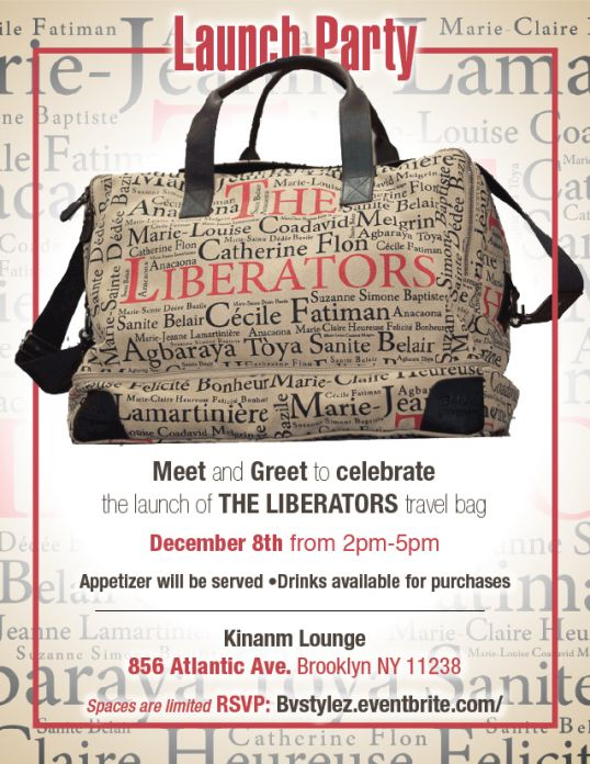 The Liberators Bag - Launch Invite 12.8.19